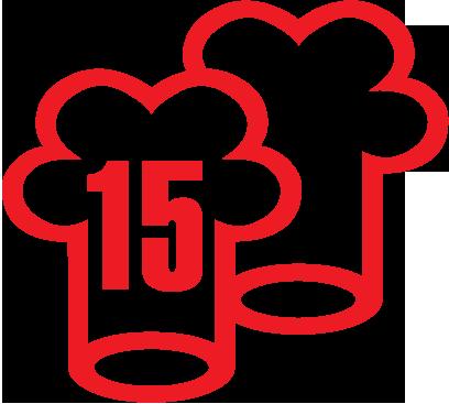 Image result for Gault Millau logo 15